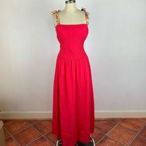 Free People Maxi Pink Dress